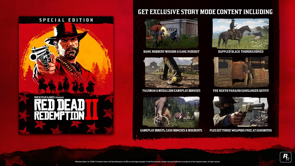 Red Dead Redemption 2 jde na Steam reddeadredemption2steamspecial