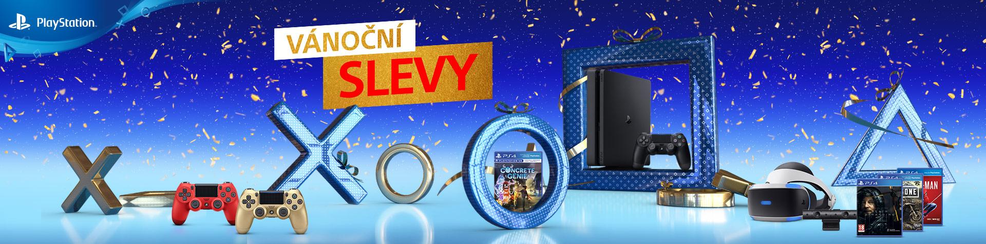 Ušetřete na herních vánočních dárcích PS4VANOCE HP