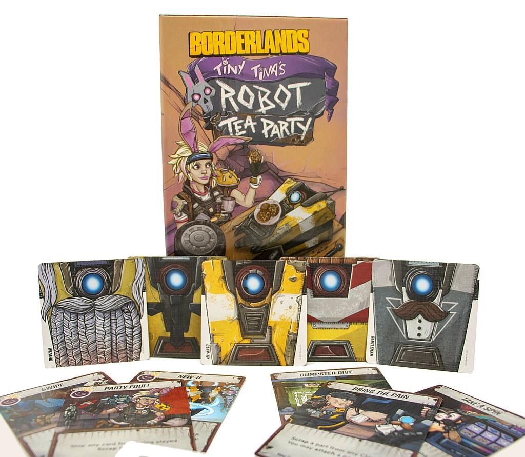 Borderlands: Tiny Tina's Robot Tea Party borderlanstinaboard01