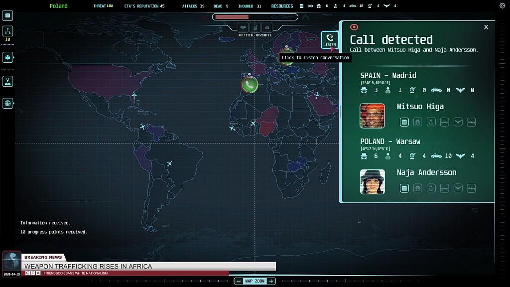 Špionážní Counter Terrorist Agency ctasc