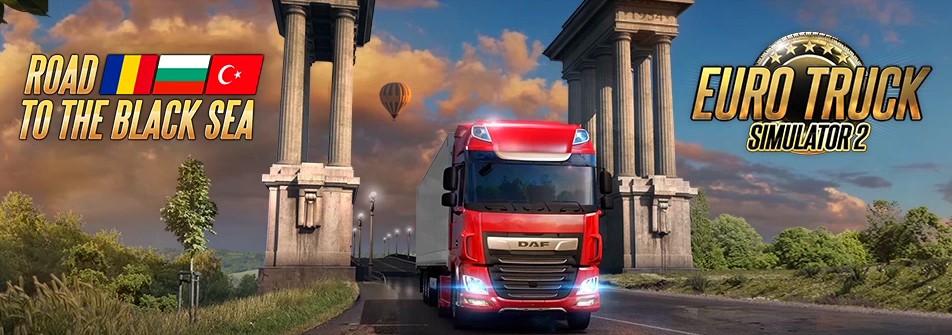 Euro Truck Simulator 2: Cesta k Černému moři eurotruckroadbanner