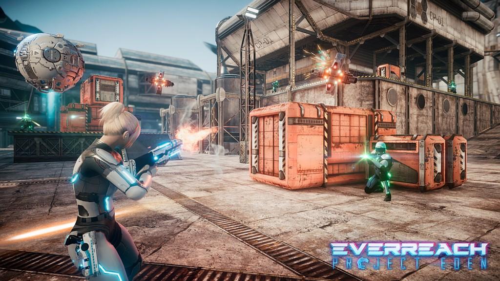 Rajská planeta Everreach: Project Eden everreachsc
