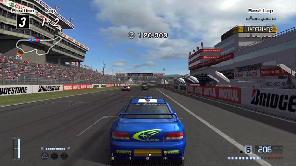 Gran Turismo 4 jezdí již 15 let granturismo4sc