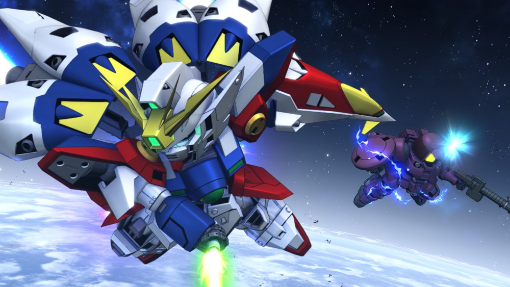 JP žebříček: návrat Gundamu gundam g generation cross rays screen