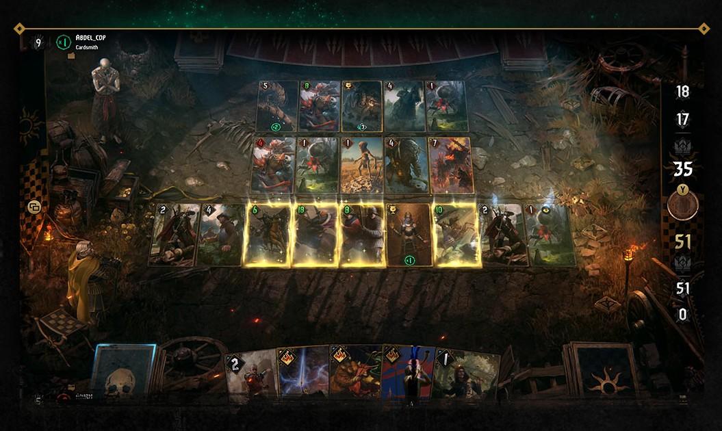 Konec GWENT: The Witcher Card Game na konzolích gwentsc
