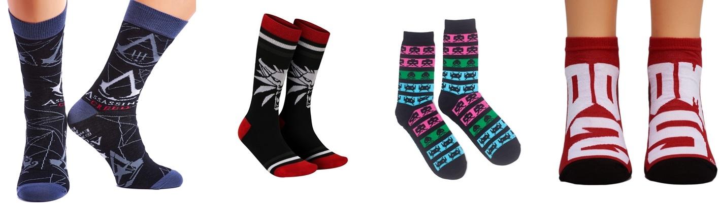 Tipy na vánoční herní dárky ponozky