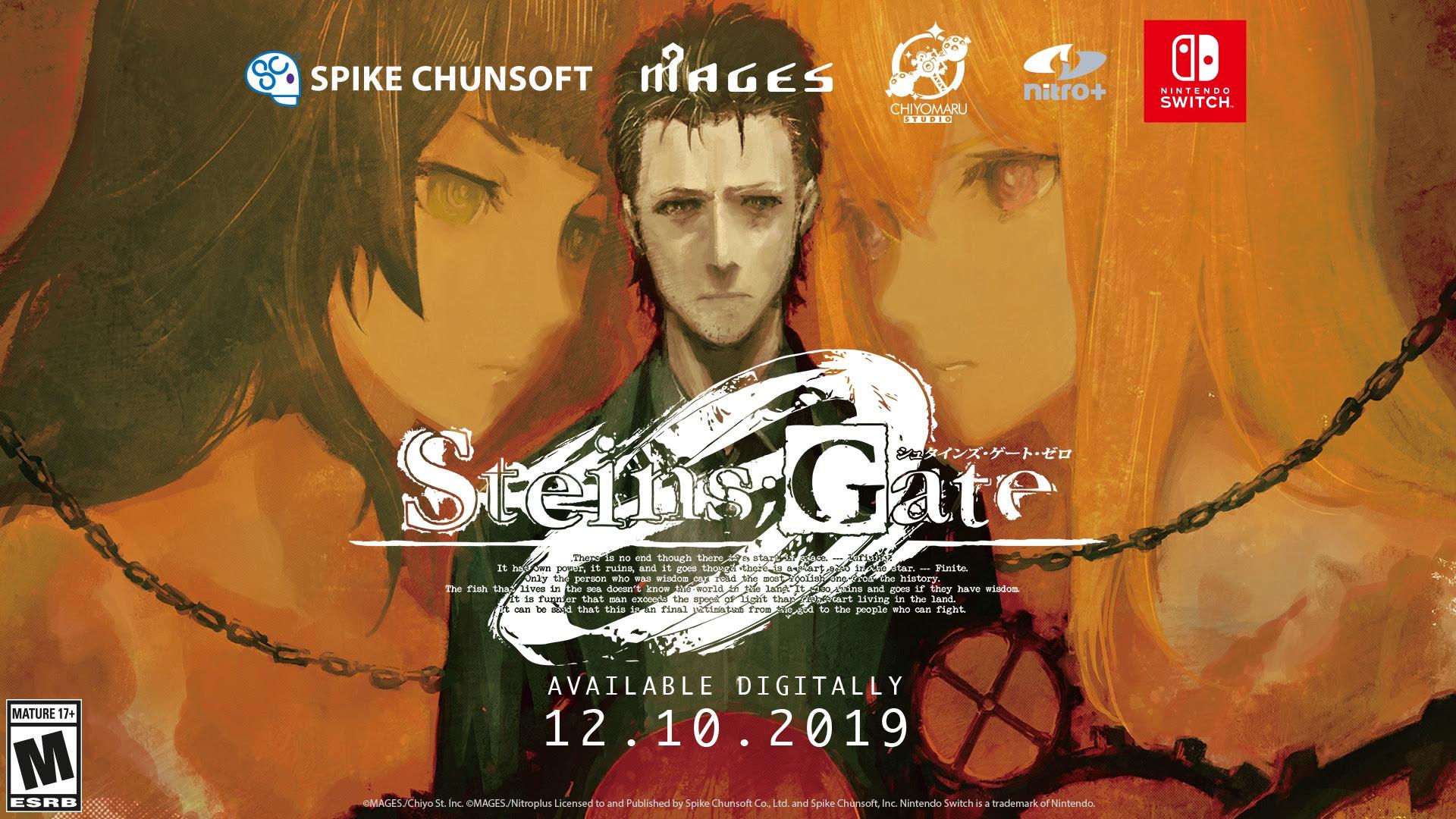 Dvojice Steins;Gate her dorazila na Switch steins gate 0 01