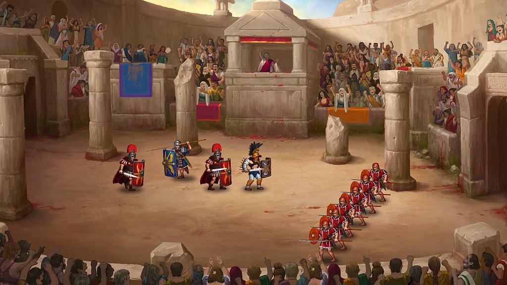 Arénová řežba Story of a Gladiator storyofgladiatorsc