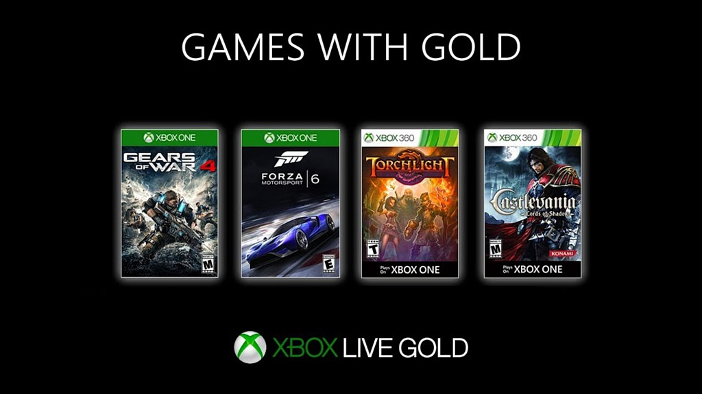 Statistiky her Xbox Games Gold 2019