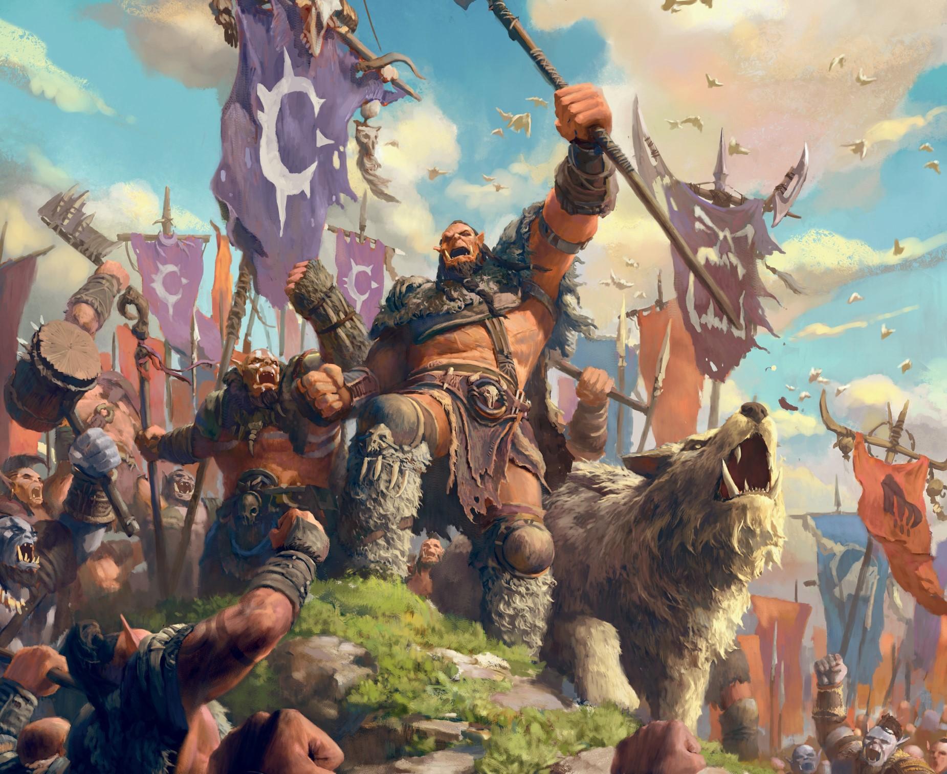 Orgrim Doomhammer a jeho banda