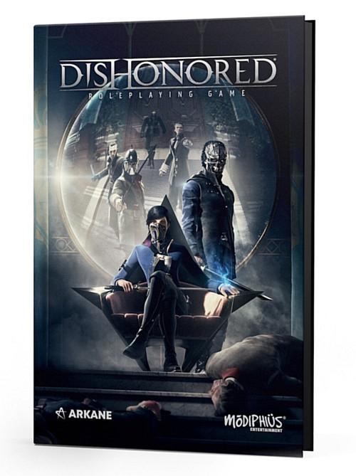 Sérii Dishonored obohatí stolní RPG dishonoredrpgbook