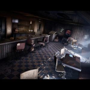 Jak by mohl vypadat původní Silent Hill v UE4? mica olsson sh cafe 01