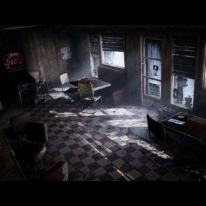 Jak by mohl vypadat původní Silent Hill v UE4? mica olsson sh cafe 03