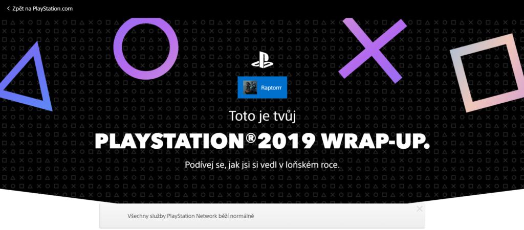 Podívejte se na váš rok s Playstation psn2019header