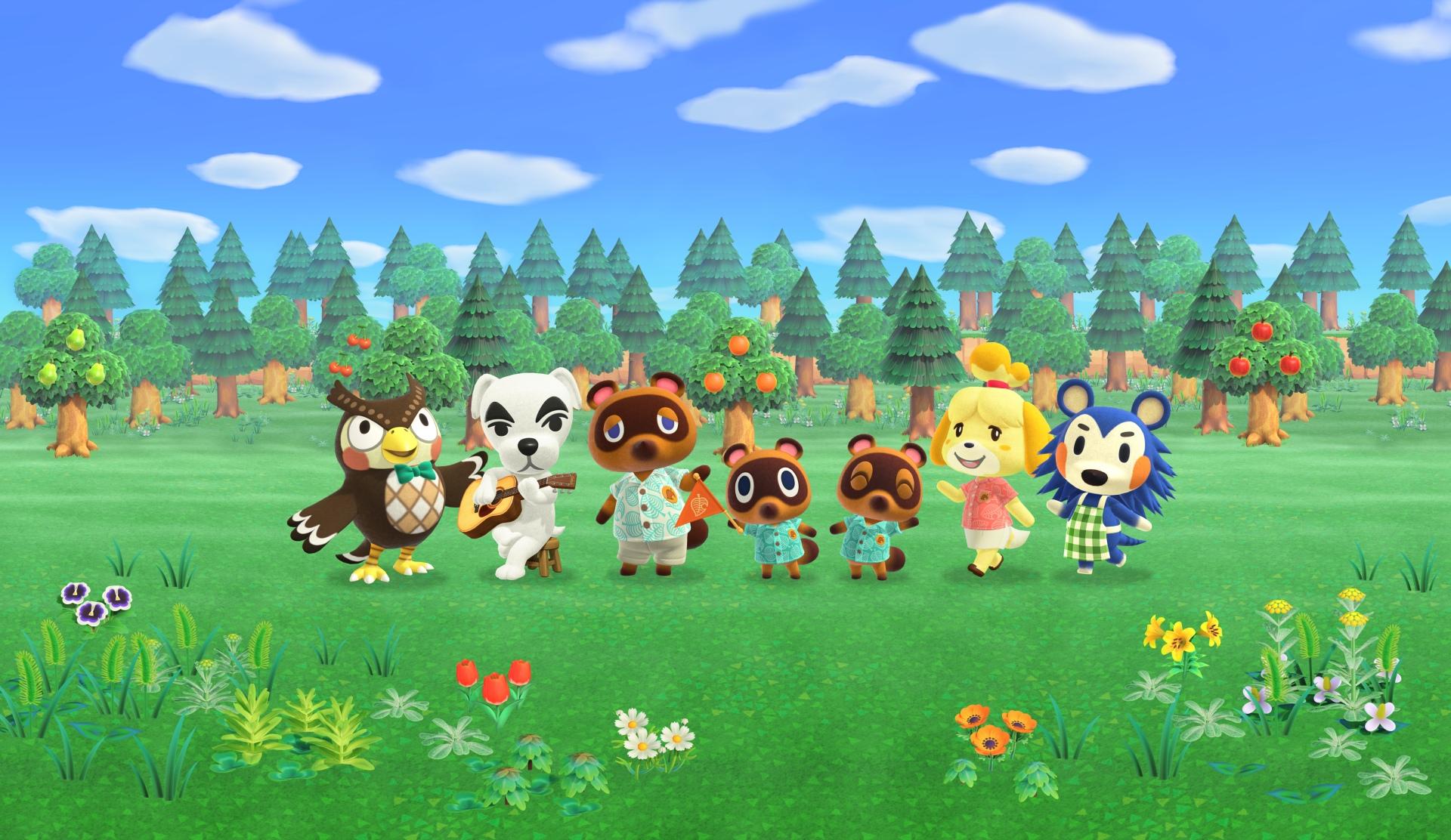 Nové detaily o Animal Crossingu: New Horizons Animal Crossing New Horizons Promo Image1