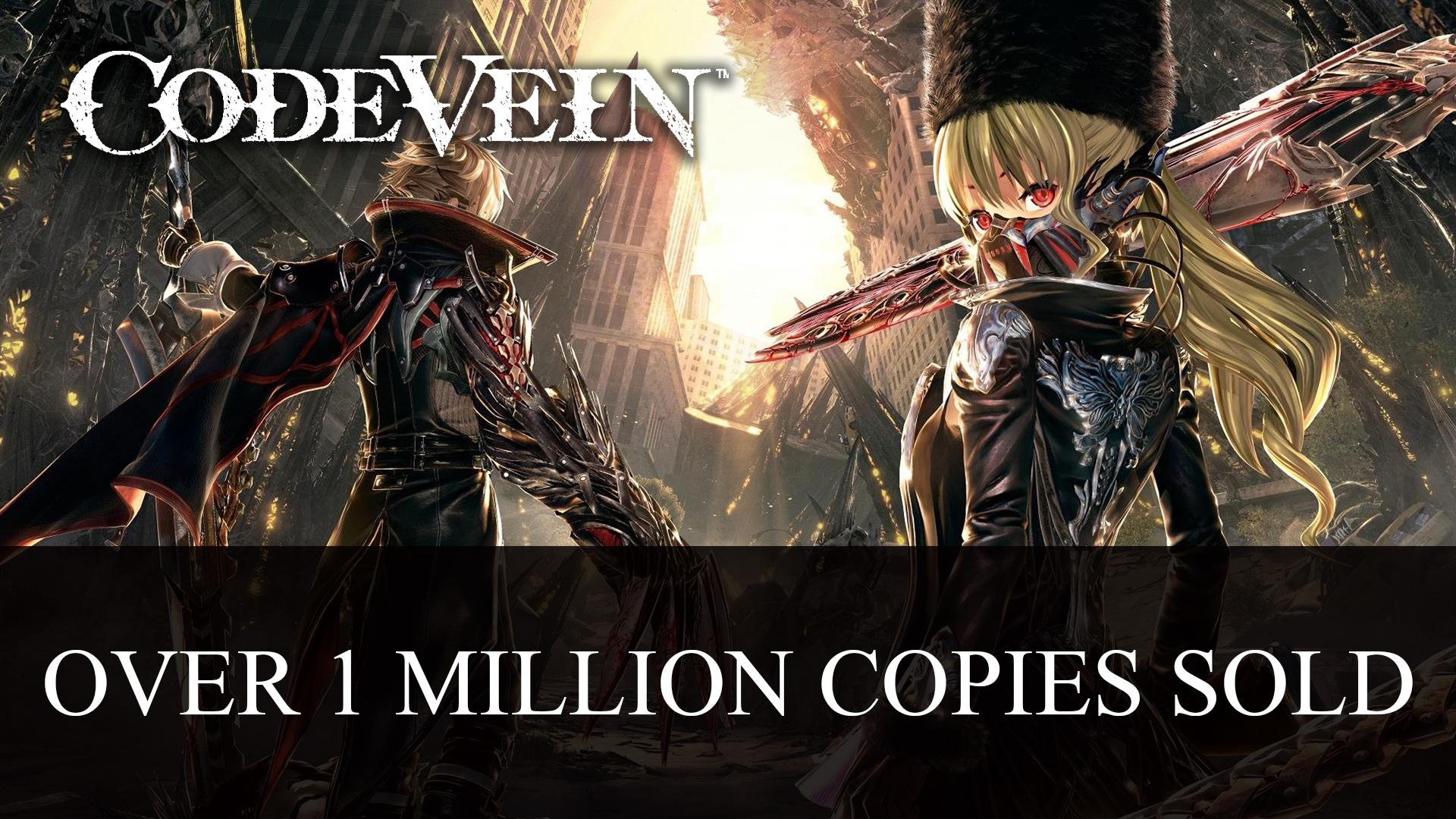JP scéna: Code Vein slaví a God Eater 3 se rozšiřuje Code Vein over 1 million copies sold