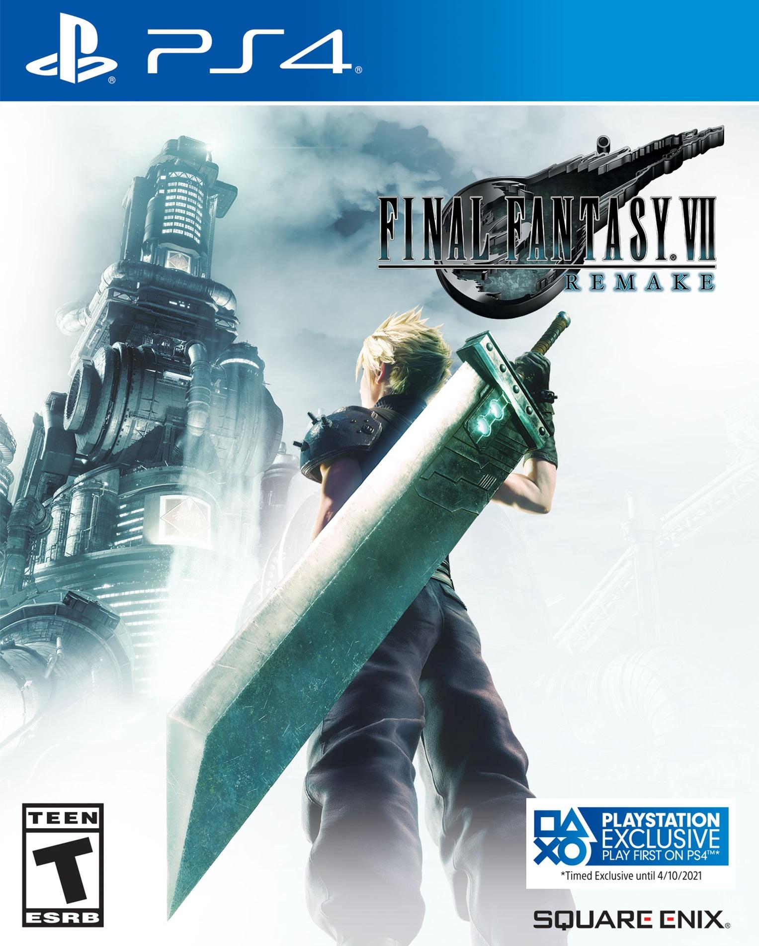 Časová exkluzivita remaku Final Fantasy VII pro PS4 prodloužena FF7R Box Art 02 06 20