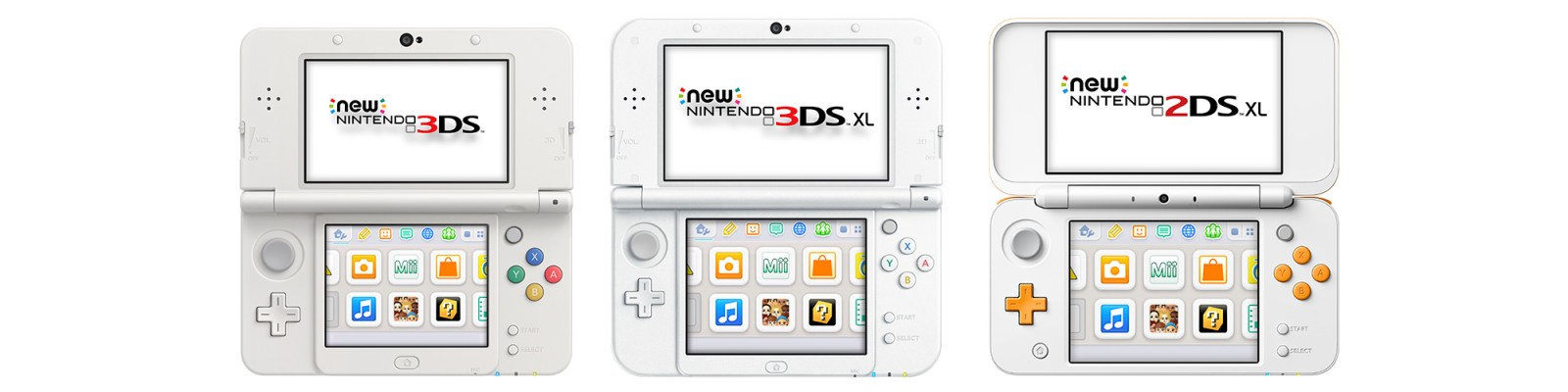 Nintendo 3DS je stále populární Nintendo3DSFamily