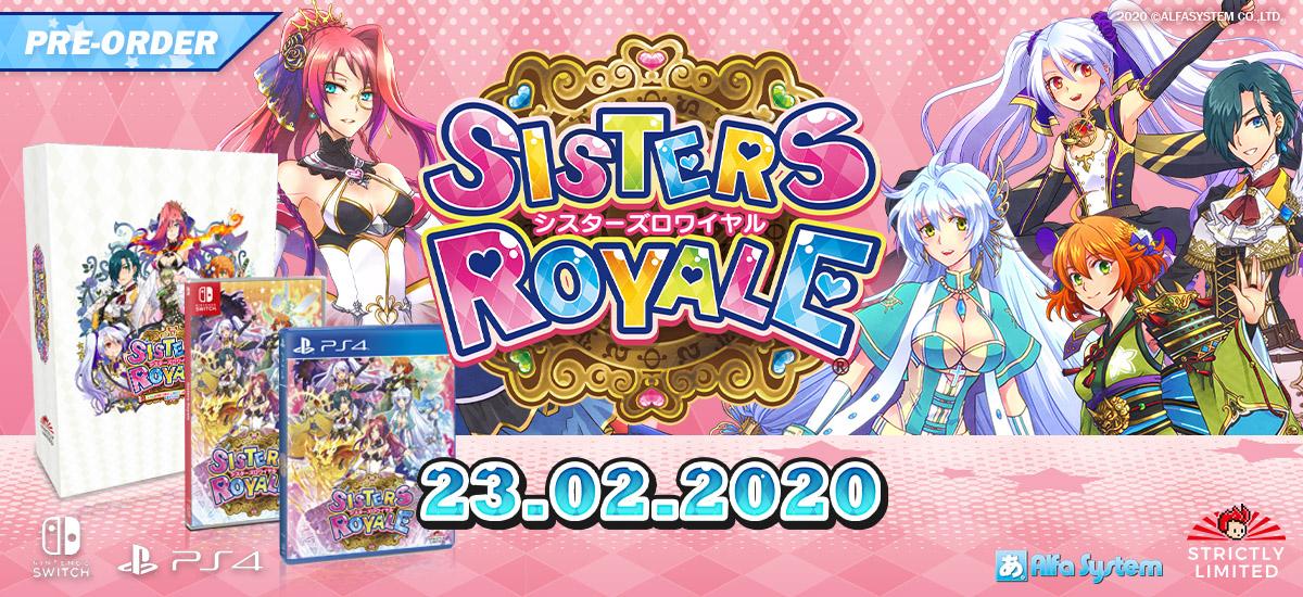 JP scéna: Final Fantasy Brave Exvius a gameplay z Blue Protocolu Sisters Royale SLG 02 21 20