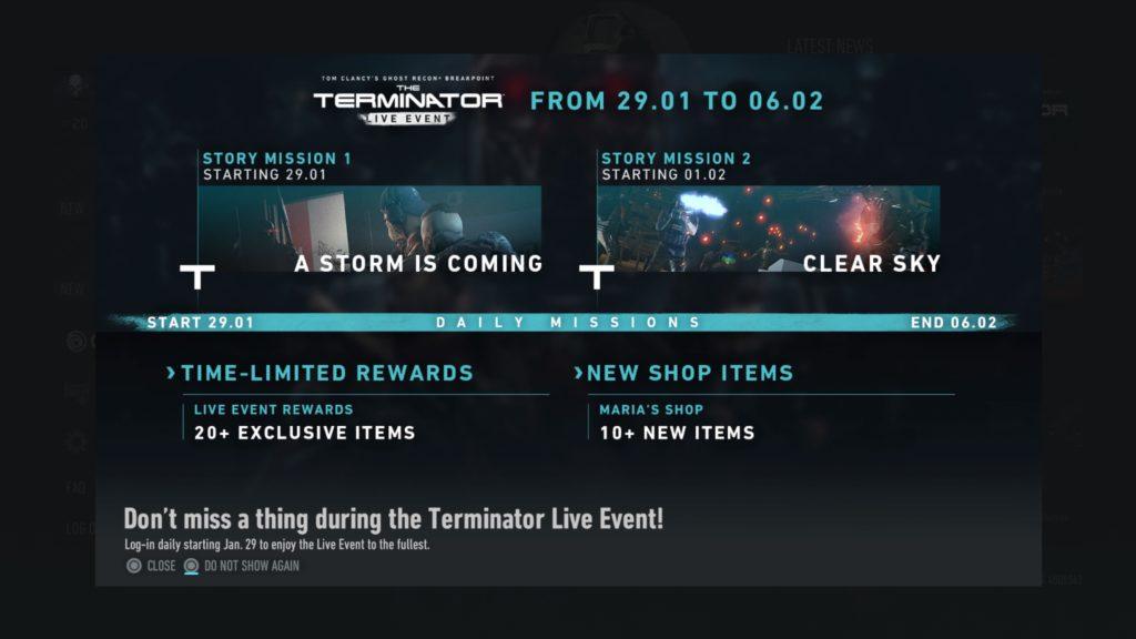 Dojmy z Terminátor misí v Breakpointu Tom Clancy's Ghost Recon® Breakpoint 20200201194454