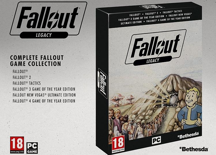 Ucelená kolekce Fallout Legacy falloutlegacypromo