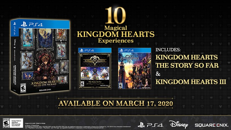 KINGDOM HEARTS All-In-One Package kingdomheartsallinpromo