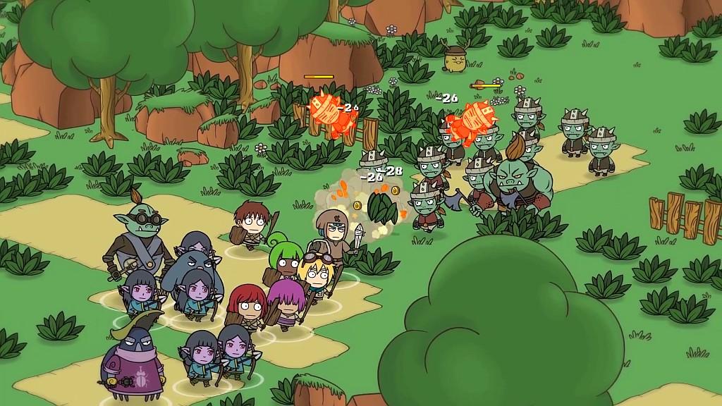 Znuděni hrami v Kofi Quest: Alpha MOD kofiquestwar1