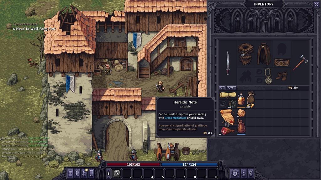 Nové tahové RPG Stoneshard stoneshardssc