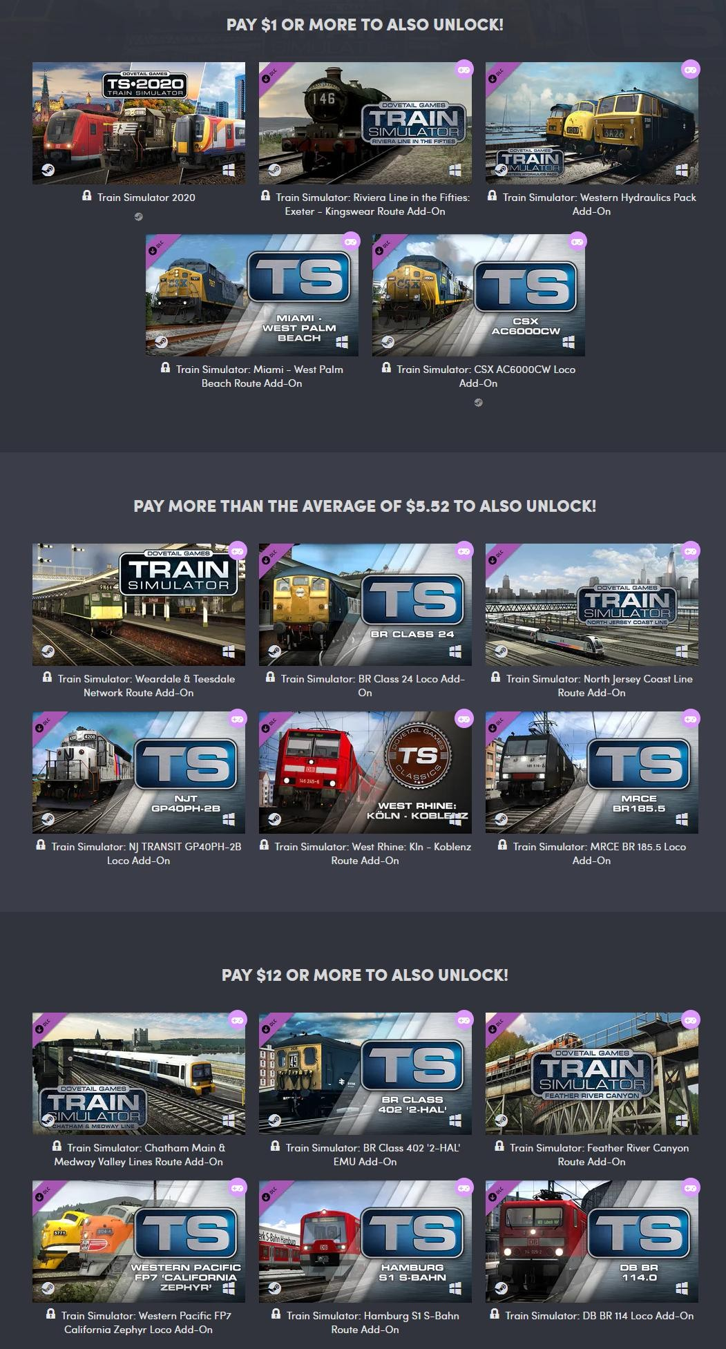 Humble Train Simulator 2020 Bundle trainsim2020humble