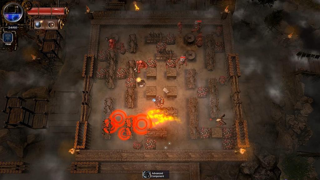 Bombing Quest je fantasy Bomberman bombingquestsc