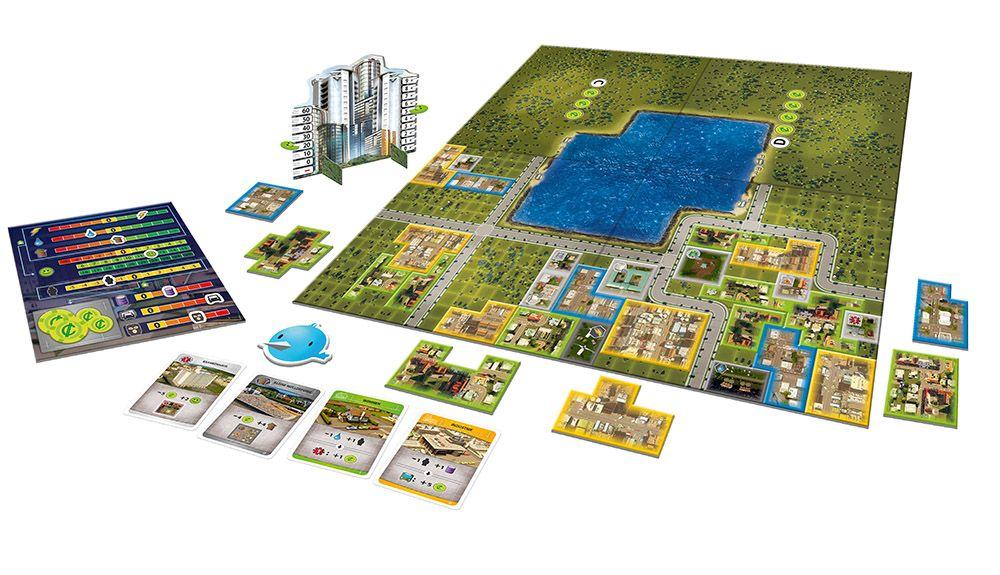 Cities: Skylines v deskové podobě citiesskylinesboard01