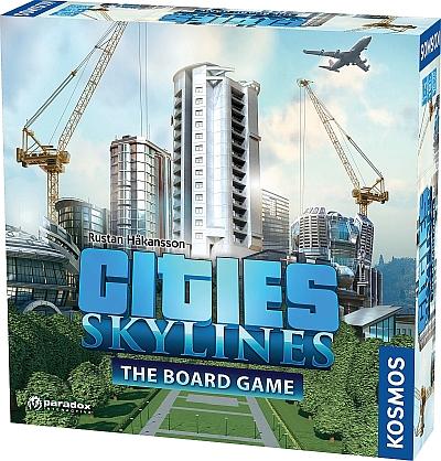 Cities: Skylines v deskové podobě citiesskylinesboard02 1