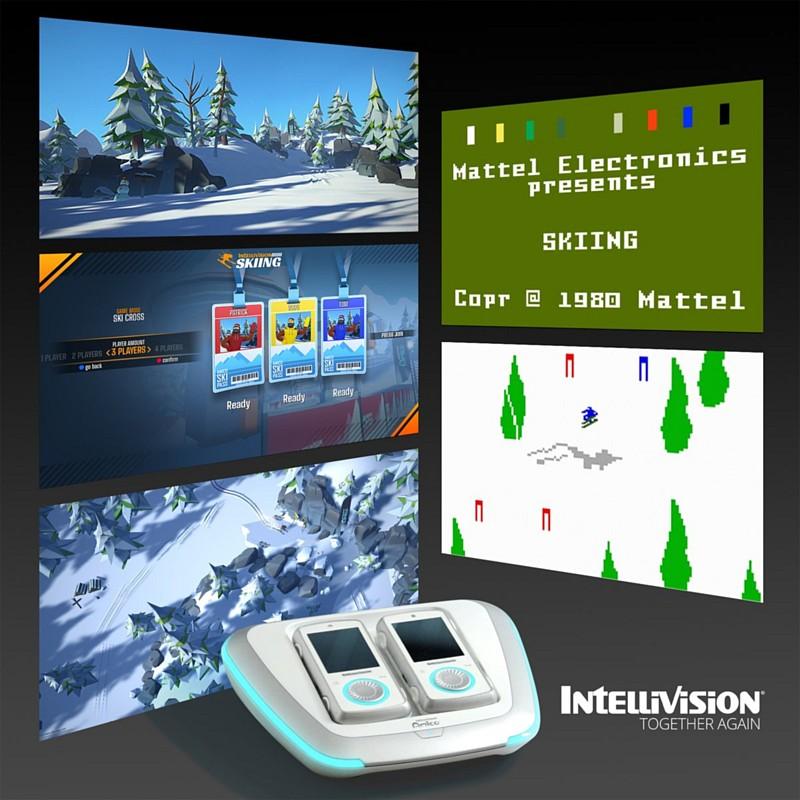 Předinstalované hry v Intellivision Amico intellivisiongamesretro