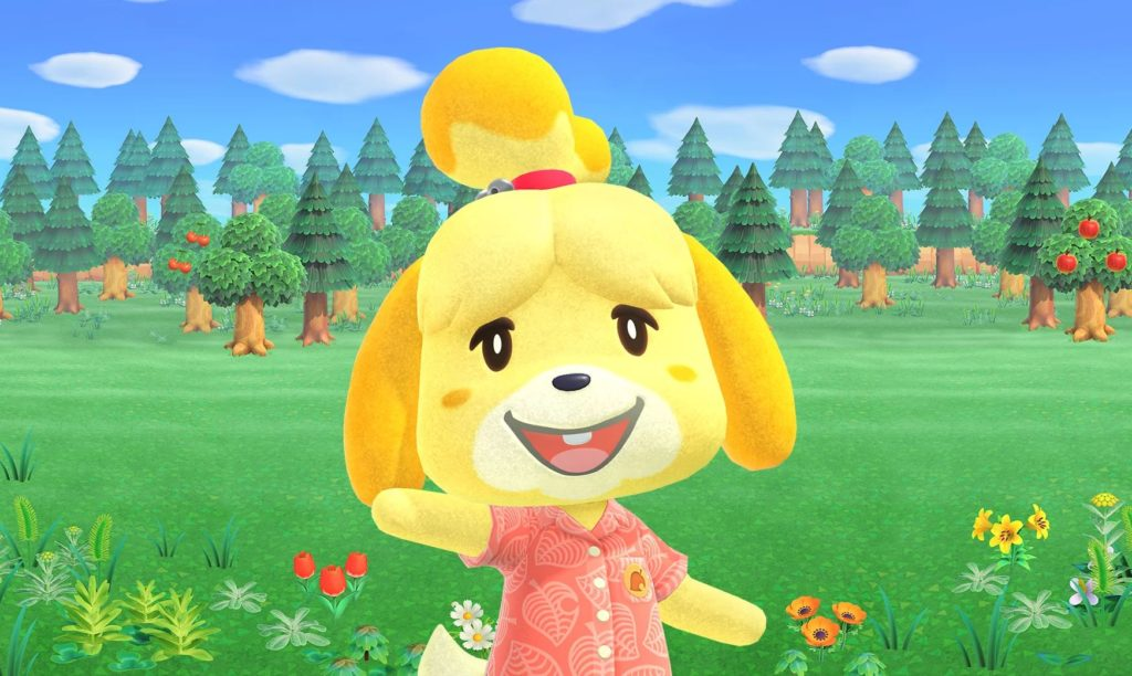 Recenze - Animal Crossing: New Horizons isabelle
