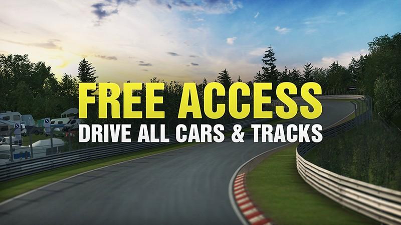 RaceRoom s kompletním obsahem zdarma raceroomfree