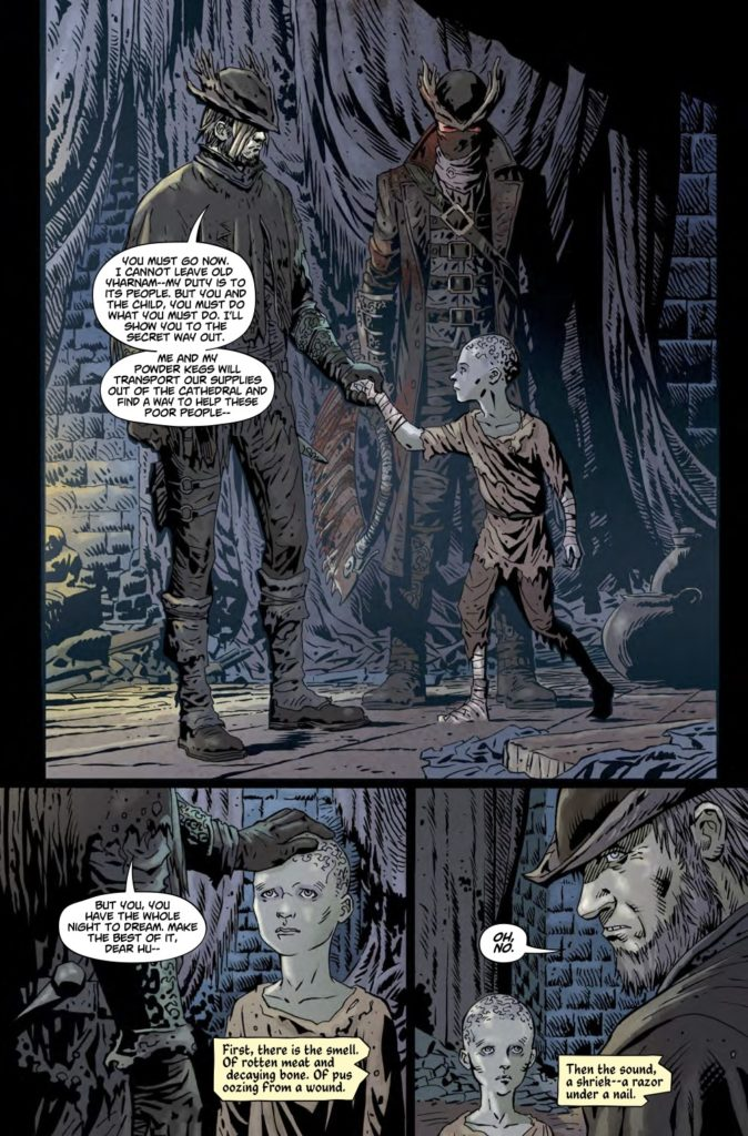 Komiks: Bloodborne 3453746 bloodborne vol 1 the death of sleep sequence 3