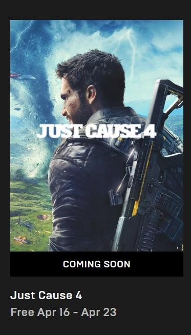 Just Cause 4 bude příští týden zdarma Just Cause 4