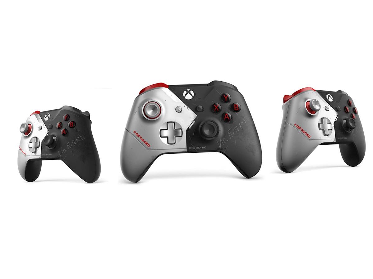 Limitovaná edice Xbox One X ve stylu Cyberpunk 2077 Xbox Controller