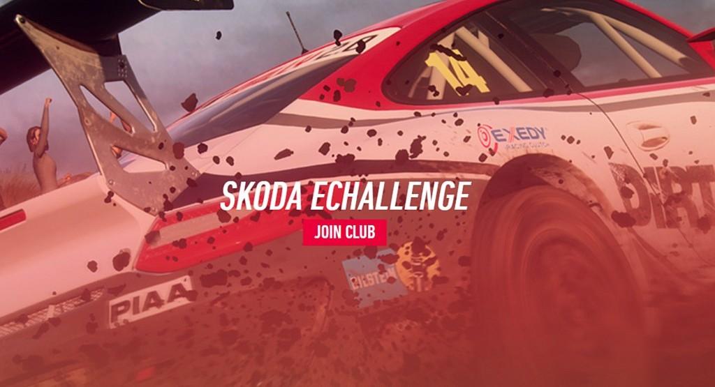 Zajeďte si Škoda Motorsport eChallenge dirt2skodasc
