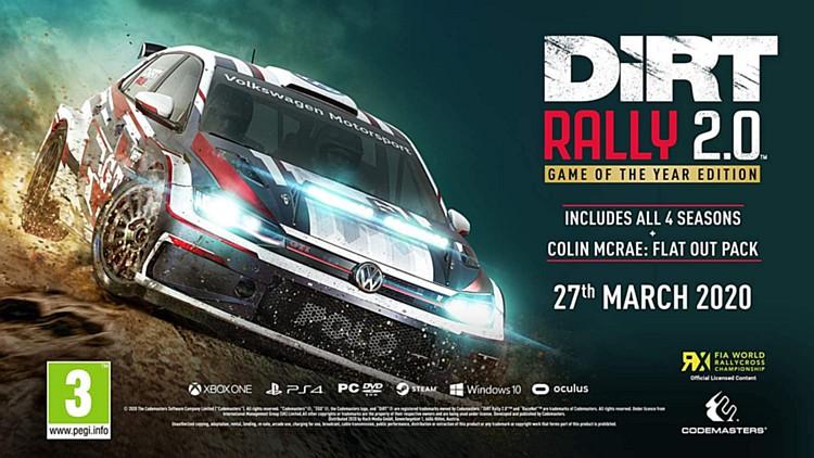 DiRT Rally 2.0 levně a kompletně dirtrally2.0promoyear