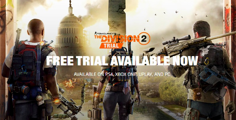 Dlouhé demo Tom Clancy's The Division 2 division2trialfull