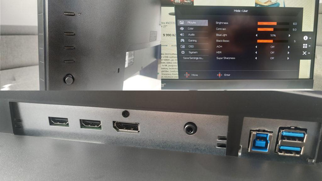 Herní IPS monitor se 144Hz a 1ms odezvou takový je Acer Nitro XV272 ilustrace5 acer nitro xv272