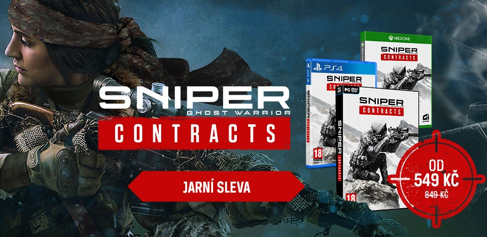 Sniper: Ghost Warrior Contracts i POP figurky levněji sniperghostxzonesale 1