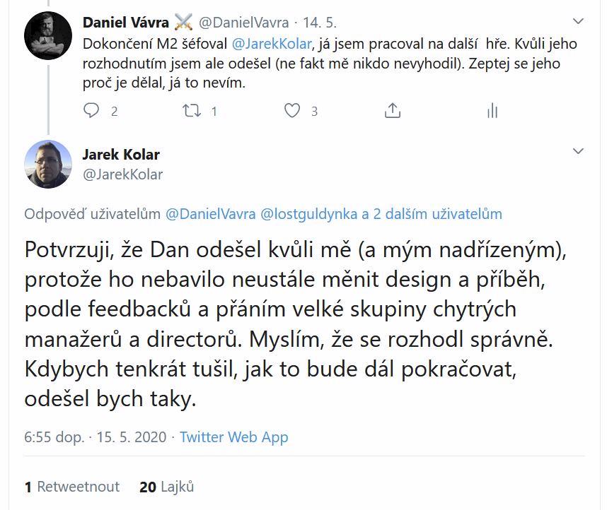 Daniel Vávra se vyjádřil k sérii Mafia 98001458 10222512419788275 11380276059963392 n