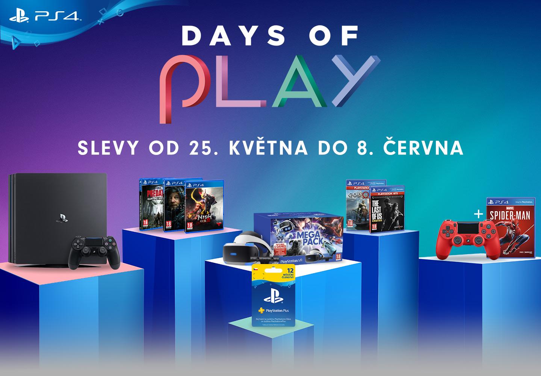 Začínají PlayStation slevy Days of Play DAYSOFPLAY NWL