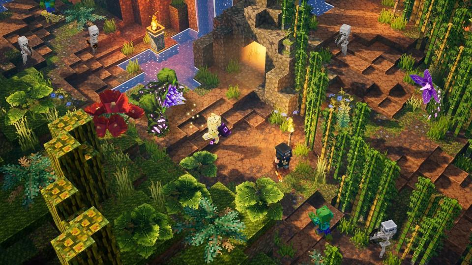 Odhalena první DLC do Minecraft Dungeons Minecrafts