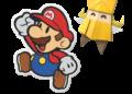 Papírový Mario vyzkouší skládat origami Paper Mario The Origami King 2020 05 14 20 043