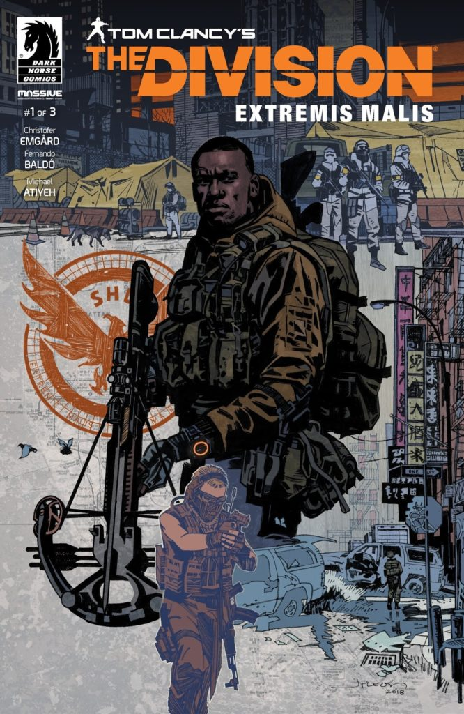Komiks: Tom Clancy´s The Division division