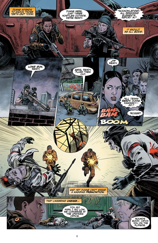 Komiks: Tom Clancy´s The Division divize