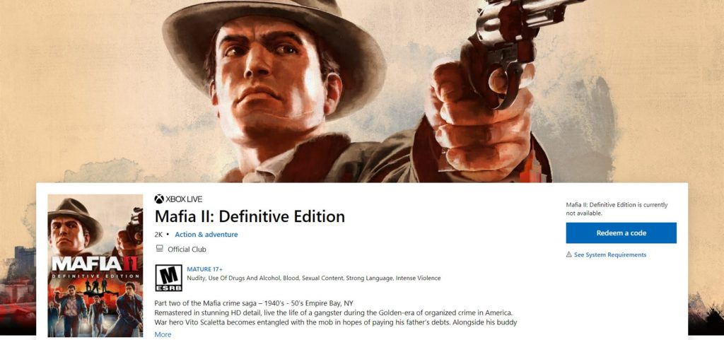 Mafia Trilogy - oficiální upoutávka mafia2de